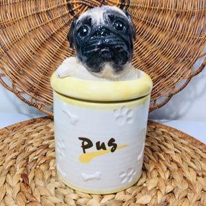 Vintage, Dog porcelain .. Excellent condition.  Ch